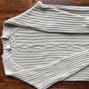 Soft Surrounding's Cream Woman's Sweater
